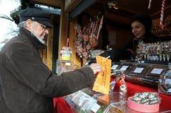 Caramelle per il Natale ed il nuovo anno Immagine Stock
