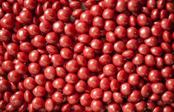 Caramelle rosse Fotografie Stock Libere da Diritti
