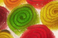Caramelle variopinte Immagini Stock