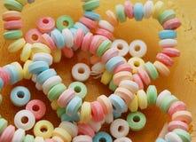Caramelle variopinte Fotografia Stock