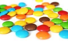 Caramelle variopinte Fotografia Stock Libera da Diritti