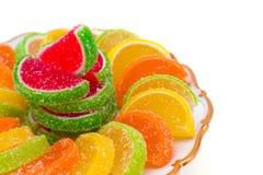 Caramelle variopinte della gelatina fotografia stock