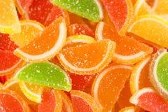 Caramelle variopinte della gelatina di frutta (primo piano) Fotografia Stock Libera da Diritti