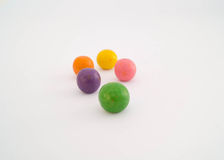 Caramelle variopinte dolci Immagine Stock Libera da Diritti