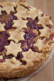 Caramelo Apple Cherry Cake Fotos de archivo