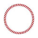 Caramelo Cane Circle Foto de archivo libre de regalías
