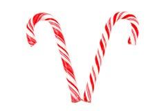 Caramelo Cane Duo Imagen de archivo libre de regalías
