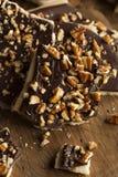 Caramelo caseiro do inglês do chocolate Fotografia de Stock Royalty Free