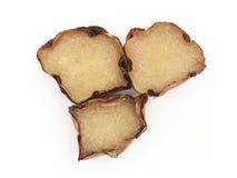 Caramelo chino del pudín en cesta Foto de archivo