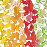 Caramelo colorido de la jalea Fotografía de archivo libre de regalías