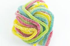 Caramelo colorido de la jalea Imagen de archivo libre de regalías