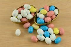 Caramelo colorido de Pascua fotografía de archivo