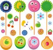 Caramelo colorido del caramelo Foto de archivo libre de regalías