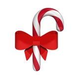 Caramelo con la cinta roja Ilustración del Vector