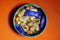 Caramelo de Bucuria hecho en el Moldavia Fotografía de archivo