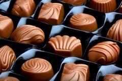Caramelo de chocolate fotografía de archivo
