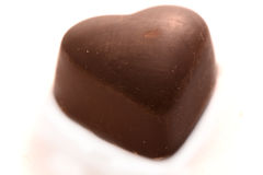 Caramelo de chocolate Imagen de archivo libre de regalías