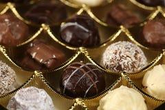 Caramelo de chocolate Imágenes de archivo libres de regalías
