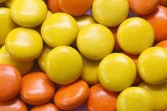 Caramelo de chocolate colorido Imágenes de archivo libres de regalías