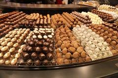 Caramelo de chocolate delicioso fotos de archivo