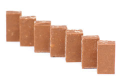 Caramelo de chocolate sabroso Foto de archivo libre de regalías