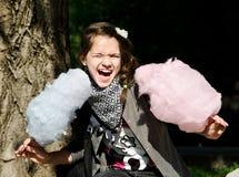 Caramelo de Coton fotos de archivo libres de regalías