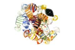 Caramelo de cristal colorido Fotos de archivo libres de regalías