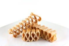 Caramelo de la cinta de la mantequilla de cacahuete Fotografía de archivo