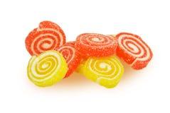 Caramelo de la fruta Imagenes de archivo