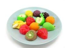 Caramelo de la fruta Fotografía de archivo
