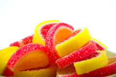Caramelo de la fruta imagen de archivo