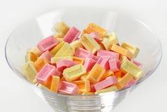 Caramelo de la fruta de Pez Fotografía de archivo