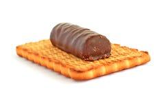 Caramelo de la galleta y del chocolate Imágenes de archivo libres de regalías