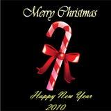 Caramelo de la Navidad stock de ilustración