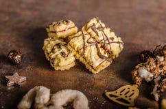 Caramelo de la Navidad, galletas Fotos de archivo libres de regalías
