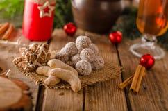 Caramelo de la Navidad, galletas Foto de archivo libre de regalías