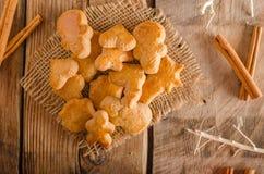 Caramelo de la Navidad, galletas Imagen de archivo libre de regalías