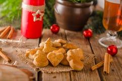 Caramelo de la Navidad, galletas Imágenes de archivo libres de regalías