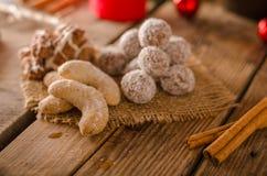 Caramelo de la Navidad, galletas Fotos de archivo