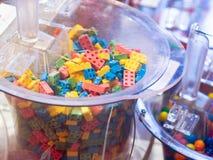 Caramelo de Lego fotografía de archivo libre de regalías