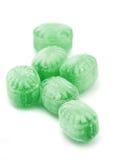 Caramelo de menta verde Fotografía de archivo