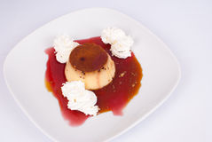 Caramelo de nata Fotos de archivo