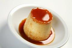 Caramelo de nata - Flan Imagens de Stock Royalty Free