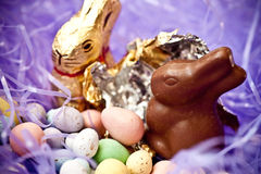 Caramelo de Pascua Fotografía de archivo
