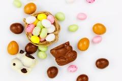 Caramelo de Pascua en la jerarquía Foto de archivo libre de regalías