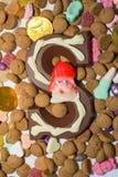 Caramelo de Sinterklaas Fotografía de archivo