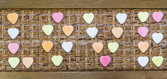 Caramelo del amor Imagenes de archivo