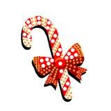 Caramelo del caramelo con el arco y modelos en un fondo blanco feliz stock de ilustración