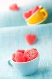 Caramelo del corazón Fotos de archivo libres de regalías
