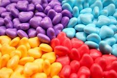 Caramelo del corazón Imagen de archivo libre de regalías